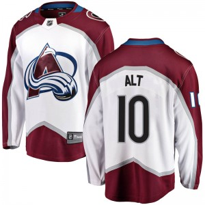 Fanatics Branded Mark Alt Colorado Avalanche Men's Breakaway Away Jersey - White