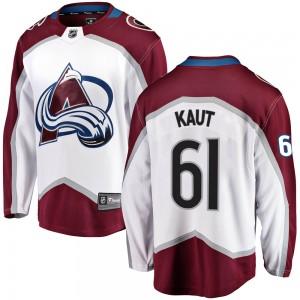 Fanatics Branded Martin Kaut Colorado Avalanche Men's ized Breakaway Away Jersey - White