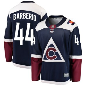 Fanatics Branded Mark Barberio Colorado Avalanche Youth Breakaway Alternate Jersey - Navy