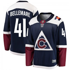 Fanatics Branded Pierre-Edouard Bellemare Colorado Avalanche Youth Breakaway Alternate Jersey - Navy