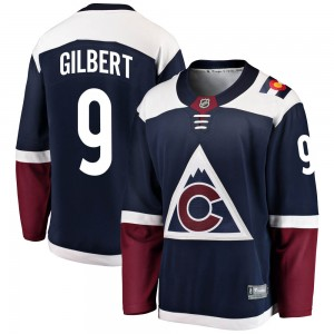 Fanatics Branded Dennis Gilbert Colorado Avalanche Youth Breakaway Alternate Jersey - Navy