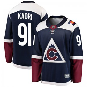 Fanatics Branded Nazem Kadri Colorado Avalanche Youth Breakaway Alternate Jersey - Navy