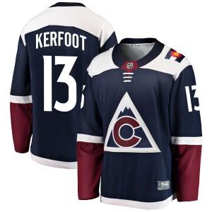 Fanatics Branded Alexander Kerfoot Colorado Avalanche Youth Breakaway Alternate Jersey - Navy