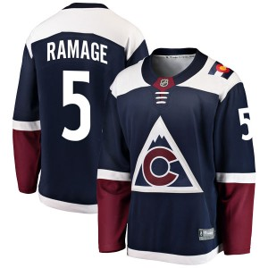 Fanatics Branded Rob Ramage Colorado Avalanche Youth Breakaway Alternate Jersey - Navy