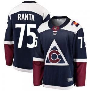 Fanatics Branded Sampo Ranta Colorado Avalanche Youth Breakaway Alternate Jersey - Navy