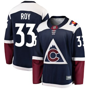 Fanatics Branded Patrick Roy Colorado Avalanche Youth Breakaway Alternate Jersey - Navy
