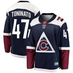 Fanatics Branded Dominic Toninato Colorado Avalanche Youth Breakaway Alternate Jersey - Navy