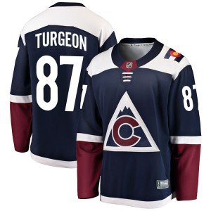 Fanatics Branded Pierre Turgeon Colorado Avalanche Youth Breakaway Alternate Jersey - Navy