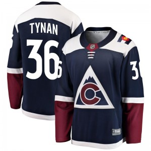 Fanatics Branded T.J. Tynan Colorado Avalanche Youth Breakaway Alternate Jersey - Navy