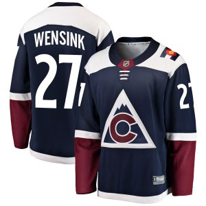 Fanatics Branded John Wensink Colorado Avalanche Youth Breakaway Alternate Jersey - Navy