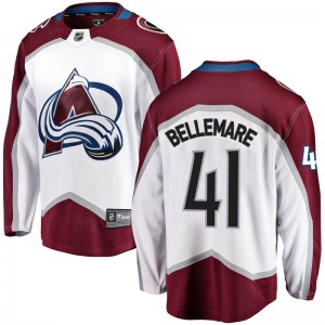 Fanatics Branded Pierre-Edouard Bellemare Colorado Avalanche Youth Breakaway Away Jersey - White