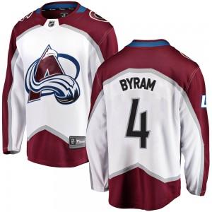 Fanatics Branded Bowen Byram Colorado Avalanche Youth Breakaway Away Jersey - White
