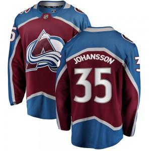 Fanatics Branded Youth Jonas Johansson Colorado Avalanche Youth Breakaway Maroon Home Jersey