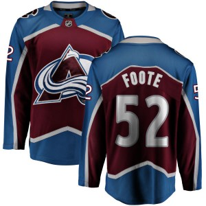 Fanatics Branded Youth Adam Foote Colorado Avalanche Maroon Home Breakaway Jersey