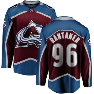 Fanatics Branded Men's Mikko Rantanen Colorado Avalanche Maroon Home Breakaway Jersey