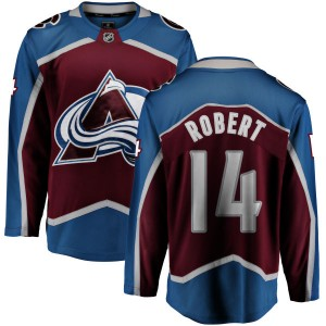 Fanatics Branded Youth Rene Robert Colorado Avalanche Maroon Home Breakaway Jersey