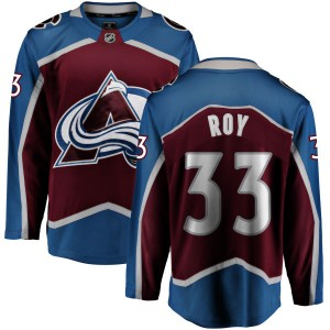Fanatics Branded Men's Patrick Roy Colorado Avalanche Maroon Home Breakaway Jersey