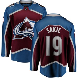 Fanatics Branded Youth Joe Sakic Colorado Avalanche Maroon Home Breakaway Jersey