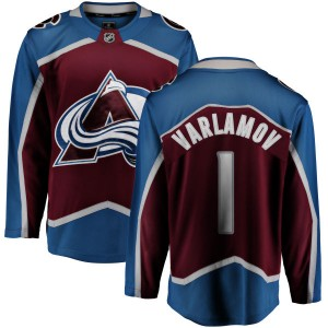 Fanatics Branded Men's Semyon Varlamov Colorado Avalanche Maroon Home Breakaway Jersey