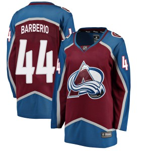 Fanatics Branded Women's Mark Barberio Colorado Avalanche Women's Breakaway Maroon Home Jersey