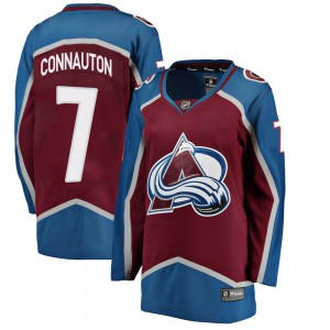 Fanatics Branded Women's Kevin Connauton Colorado Avalanche Women's Breakaway Maroon Home Jersey