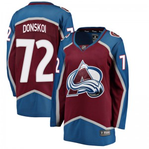 Fanatics Branded Women's Joonas Donskoi Colorado Avalanche Women's Breakaway Maroon Home Jersey