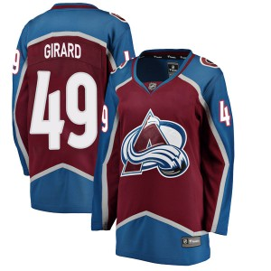 Fanatics Branded Women's Samuel Girard Colorado Avalanche Women's Breakaway Maroon Home Jersey