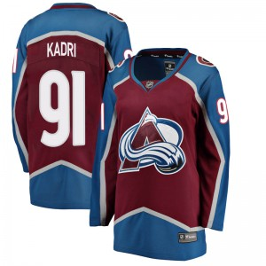 Fanatics Branded Women's Nazem Kadri Colorado Avalanche Women's Breakaway Maroon Home Jersey