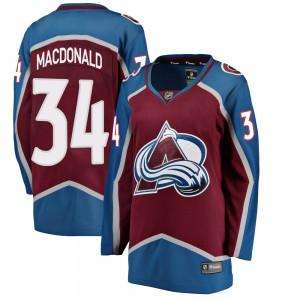 Fanatics Branded Women's Jacob MacDonald Colorado Avalanche Women's Breakaway Maroon Home Jersey