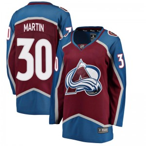 Fanatics Branded Women's Spencer Martin Colorado Avalanche Women's Breakaway Maroon Home Jersey
