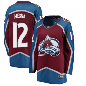 Fanatics Branded Women's Jayson Megna Colorado Avalanche Women's Breakaway Maroon Home Jersey