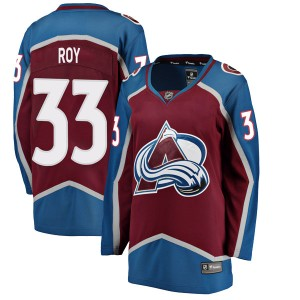 Fanatics Branded Women's Patrick Roy Colorado Avalanche Women's Breakaway Maroon Home Jersey