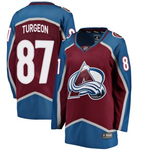 Fanatics Branded Women's Pierre Turgeon Colorado Avalanche Women's Breakaway Maroon Home Jersey
