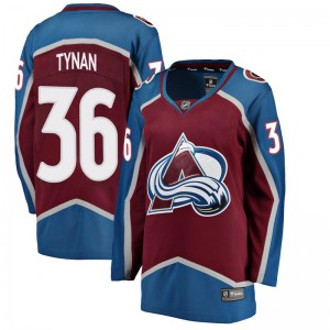 Fanatics Branded Women's T.J. Tynan Colorado Avalanche Women's Breakaway Maroon Home Jersey