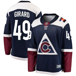 Fanatics Branded Samuel Girard Colorado Avalanche Men's Breakaway Alternate Jersey - Navy