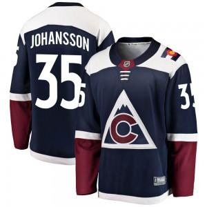 Fanatics Branded Jonas Johansson Colorado Avalanche Men's Breakaway Alternate Jersey - Navy