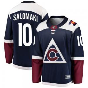 Fanatics Branded Miikka Salomaki Colorado Avalanche Men's Breakaway Alternate Jersey - Navy