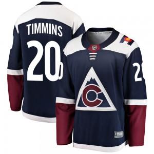 Fanatics Branded Conor Timmins Colorado Avalanche Men's Breakaway Alternate Jersey - Navy