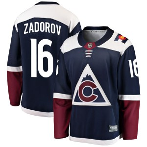Fanatics Branded Nikita Zadorov Colorado Avalanche Men's Breakaway Alternate Jersey - Navy