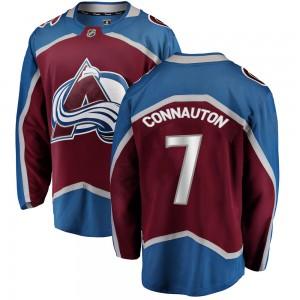 Fanatics Branded Men's Kevin Connauton Colorado Avalanche Men's Breakaway Maroon Home Jersey