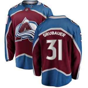 Fanatics Branded Men's Philipp Grubauer Colorado Avalanche Men's Breakaway Maroon Home Jersey