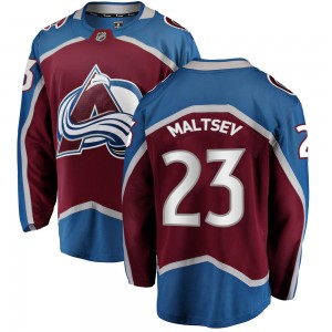 Fanatics Branded Men's Mikhail Maltsev Colorado Avalanche Men's Breakaway Maroon Home Jersey