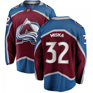 Fanatics Branded Men's Hunter Miska Colorado Avalanche Men's Breakaway Maroon Home Jersey