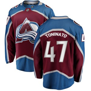 Fanatics Branded Men's Dominic Toninato Colorado Avalanche Men's Breakaway Maroon Home Jersey