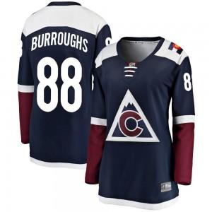 Fanatics Branded Kyle Burroughs Colorado Avalanche Women's Breakaway Alternate Jersey - Navy