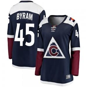 Fanatics Branded Bowen Byram Colorado Avalanche Women's ized Breakaway Alternate Jersey - Navy