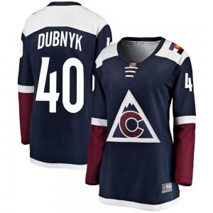 Fanatics Branded Devan Dubnyk Colorado Avalanche Women's Breakaway Alternate Jersey - Navy