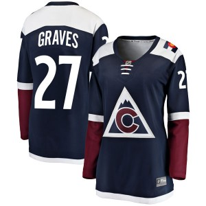 Fanatics Branded Ryan Graves Colorado Avalanche Women's Breakaway Alternate Jersey - Navy