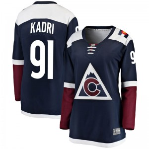 Fanatics Branded Nazem Kadri Colorado Avalanche Women's Breakaway Alternate Jersey - Navy