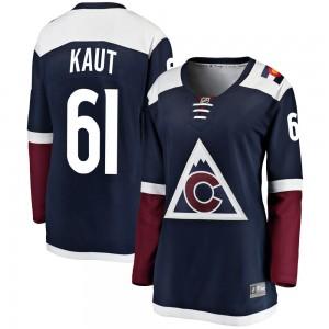 Fanatics Branded Martin Kaut Colorado Avalanche Women's ized Breakaway Alternate Jersey - Navy